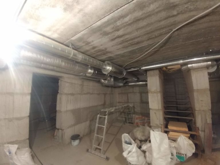 вентиляционная установка SystemAir для вентиляции коттеджа, г.Киев Украина