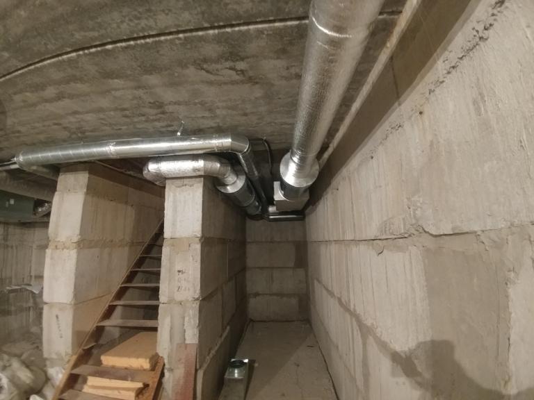 вентиляционная установка Salda для вентиляции коттеджа, г.Киев Украина