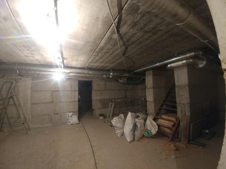 монтаж вентиляции коттеджа, г.Киев Украина