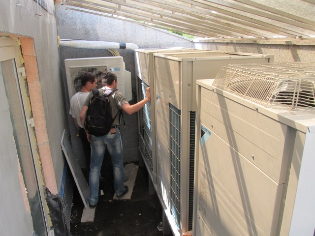 наладка системы кондиционирования Daikin VRV в коттедже, г Киев