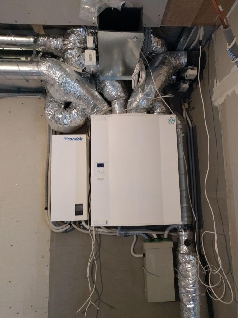 монтаж вентиляции с увлажнением в квартире, г Киев