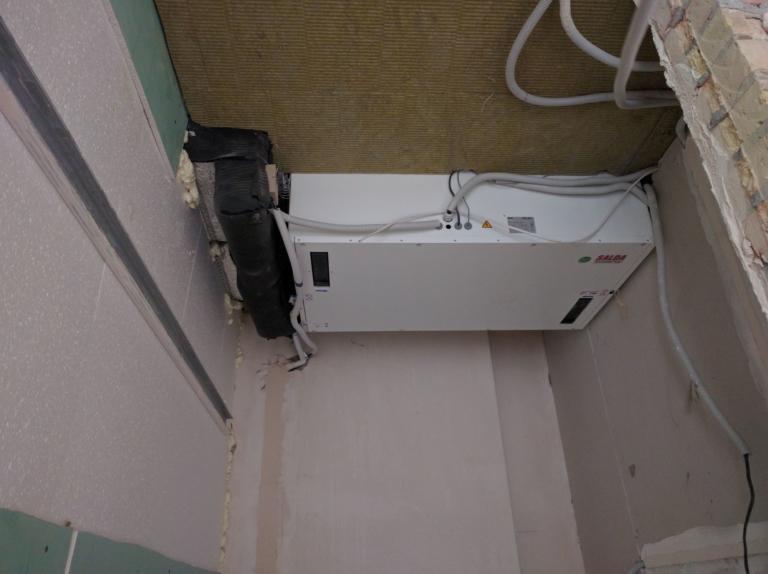 рекуператор SALDA системы вентиляции с увлажнением в квартире, г Киев
