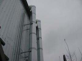 монтаж системы вентиляции производственного цеха, г.Бровары Украина
