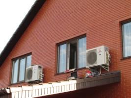Установлена система кондиционирования коттеджа в поселке Крюковщина