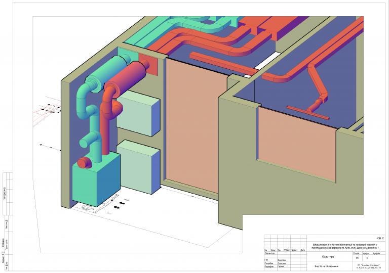 схема вентиляции квартиры