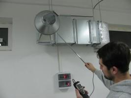 наладка системы вентиляции в производственных помещениях г.Боярка, Украина