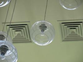Вентиляция в частном доме, монтаж потолочных решеток