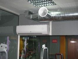 монтаж кондиционера в спортивном клубе SPORTLIFE, г Киев