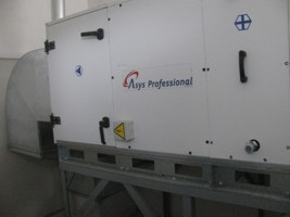 вентиляционная установка напольного типа для производства г.Боярка, Украина