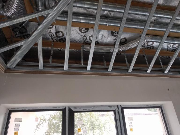 Воздуходы занимают всего 150мм под потолком