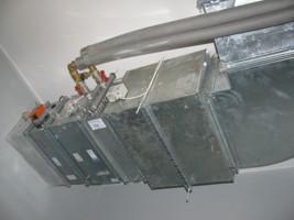 монтаж системы вентиляции в коттедже г.Киев, Украина